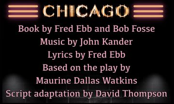 CAST Theatre Co. present Chicago The Musical
