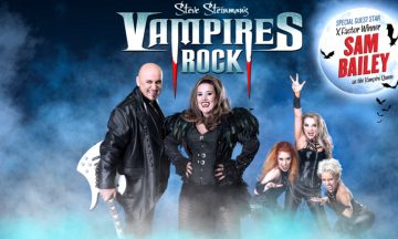Steve Steinman's Vampires Rock with special guest Sam Bailey