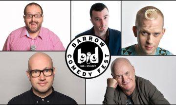 Barrow BID BIG Comedy Night