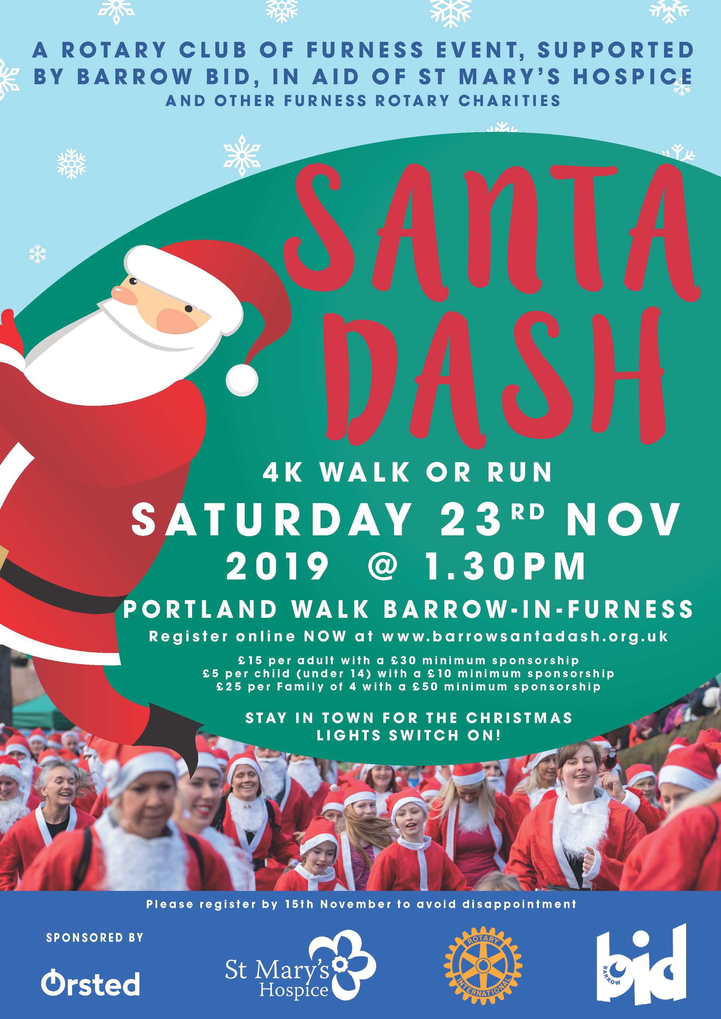Barrow Santa Dash