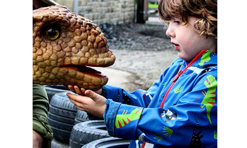 Dino Day – Storytime Adventures & Meet the baby dinosaurs