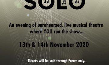Walney Musical Theatre Co. presents Solo
