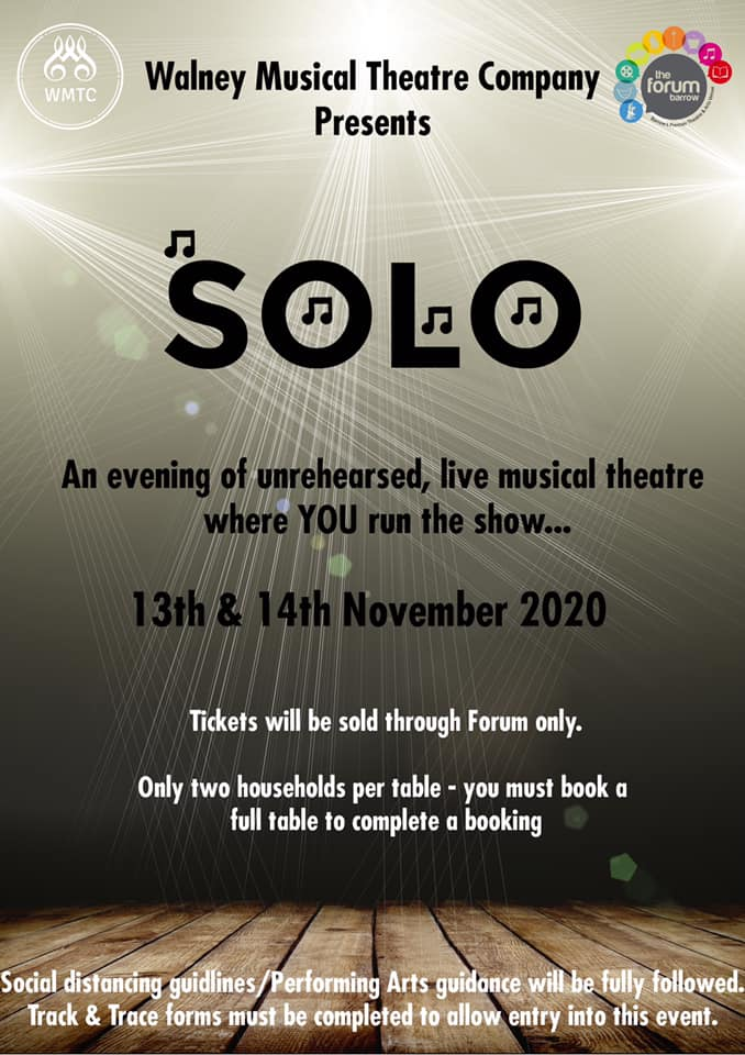 Walney Musical Theatre Co. presents Solo