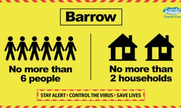 New Measures introduced to tackle Corona virus rates across Barrow