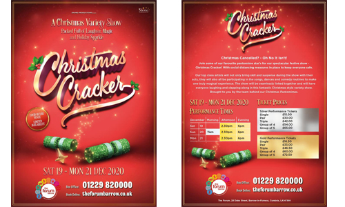Shone Productions present Christmas Cracker