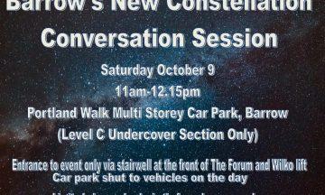 Barrow's New Constellation Conversation Session